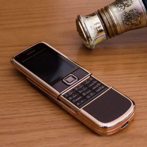 Nokia 8800 Sapphire Rose Gold Mạ Vàng Hồng