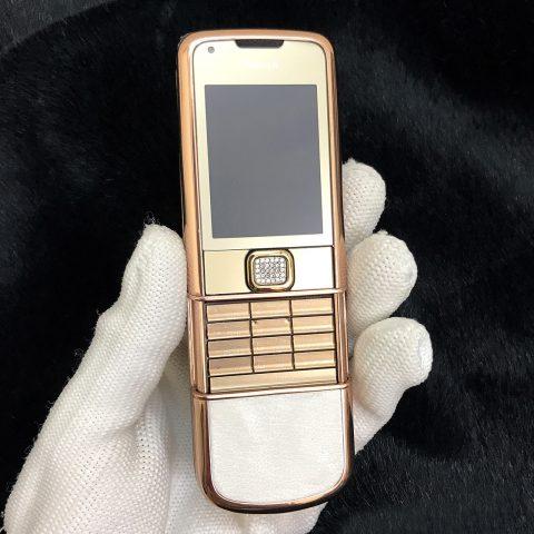 Nokia 8800 Gold Arte Mạ Vàng Hồng Vỏ Cao Cấp