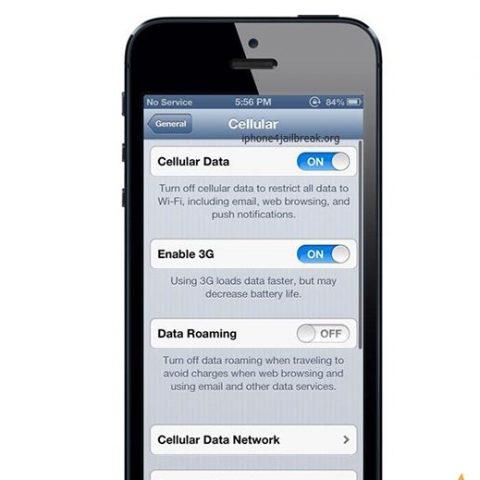 Sửa lỗi iPhone 5,5S,5C mất sóng
