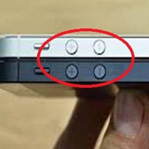 Thay nút volume iPhone 5,5S,5C