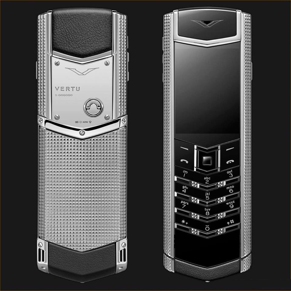 Vertu Signature S Clous de Paris Sliver (1)