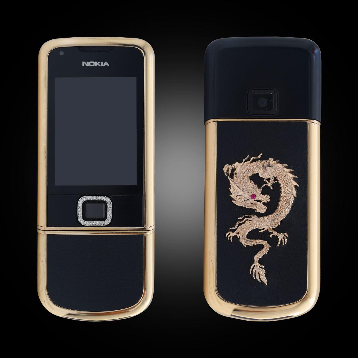 Nokia 8800 Rose Gold diem da da den rong 1