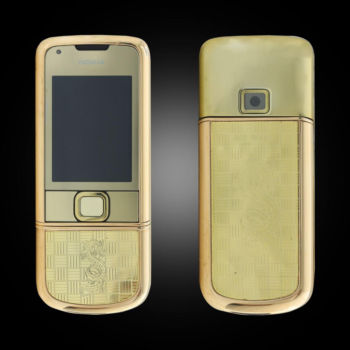 Nokia 8800 Rose Gold khảm rồng 1