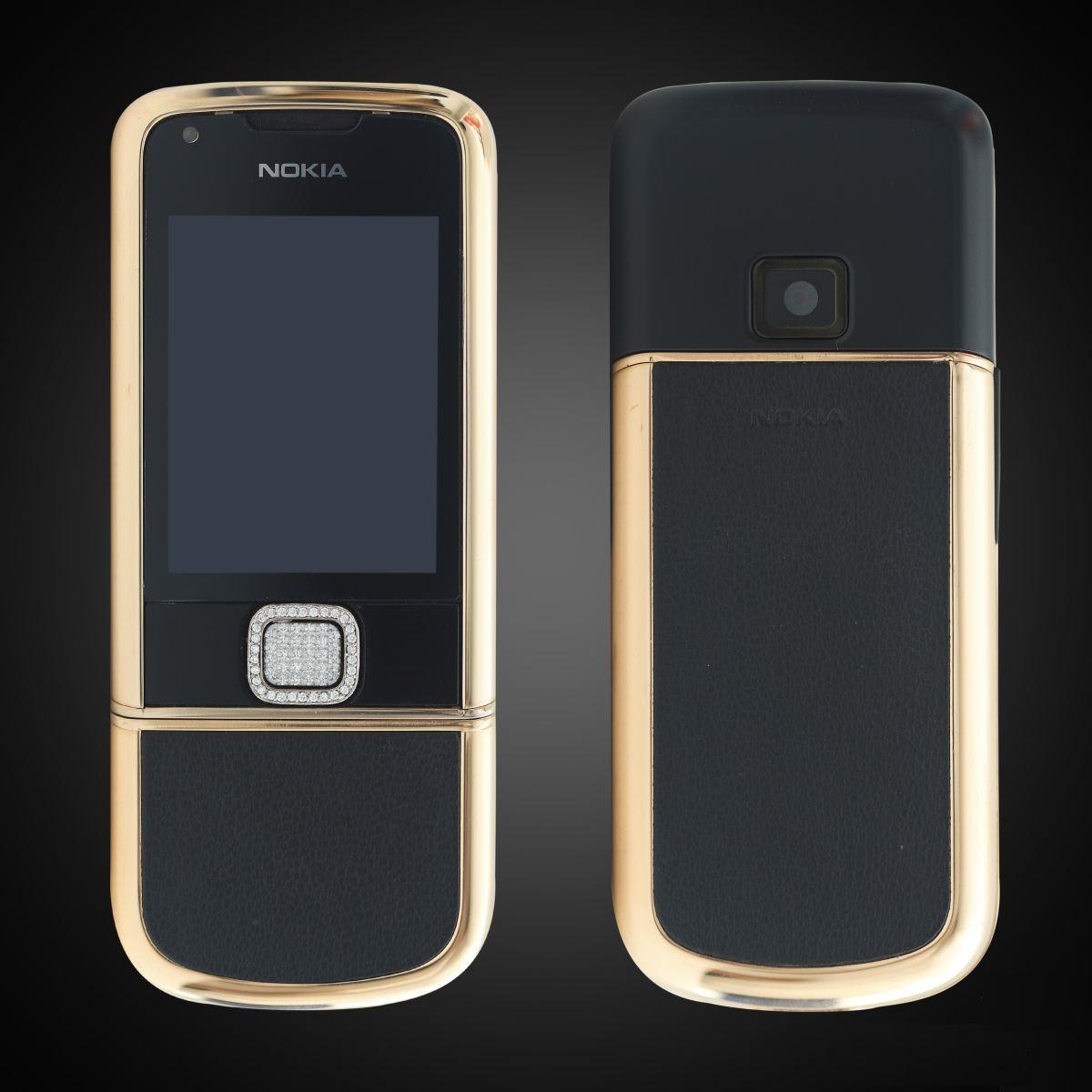 Nokia 8800 rose gold da den dinh da