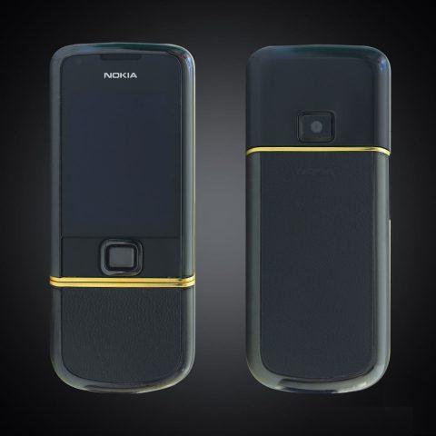 Nokia 8800E Sapphire Black điểm vàng đẹp xuất sắc