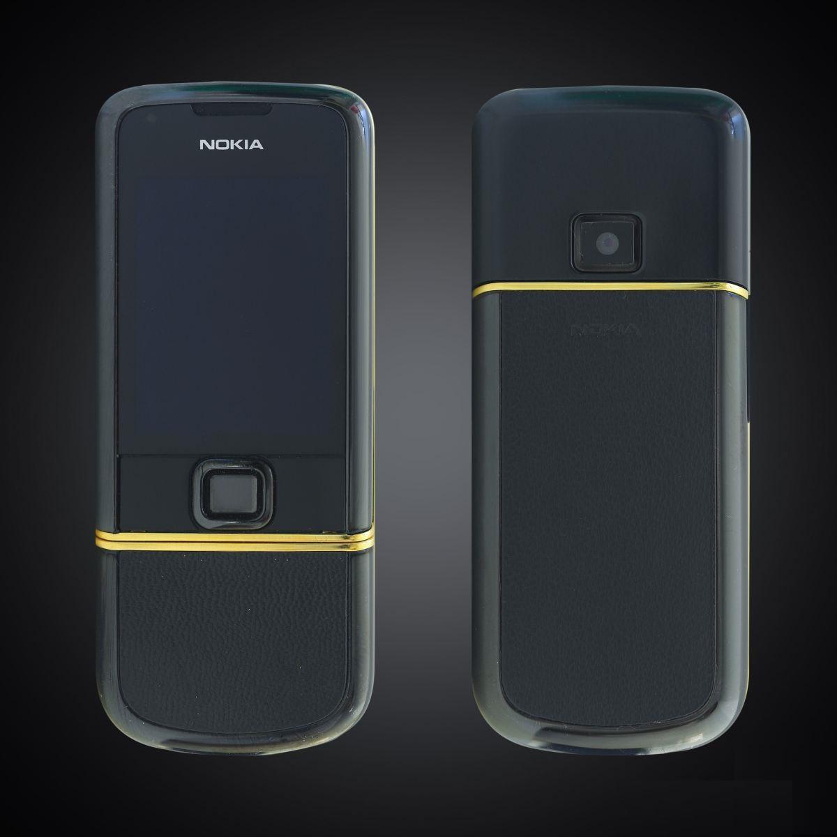 Nokia 8800 sapphire black điểm vàng – Copy