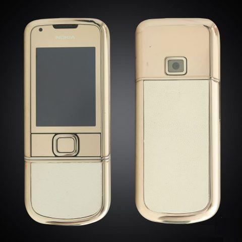 Nokia 8800E Gold Arte Da Trắng Nguyên Bản 4Gb hình thức 94%