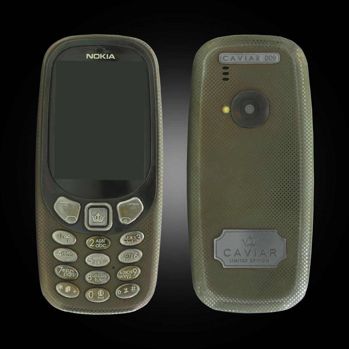Nokia 3310 Caviar 1