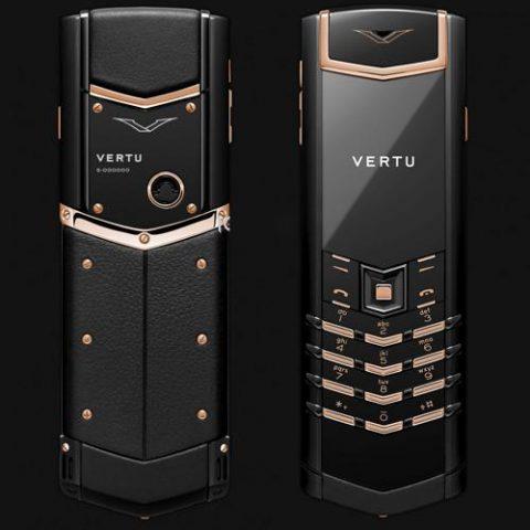 Vertu Signature S Limited Black Red Gold Chính Hãng Độ Vỏ